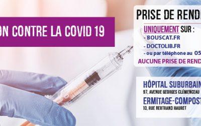 Actualité : Vaccination contre la COVID 19