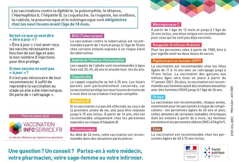 La vaccination et la prévention à l'Hôpital Suburbain du Bouscat