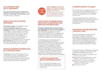 Cancer, conseils et prévention à l'Hôpital Suburbain du Bouscat