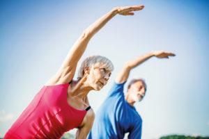 Pour rester en bonne santé il faut pratiquer une activité physique régulière